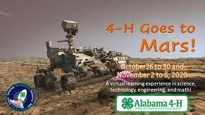 Stem Camp-4H Goes to Mars